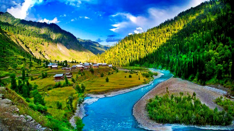 Kashmir -Valley with Gulmarg