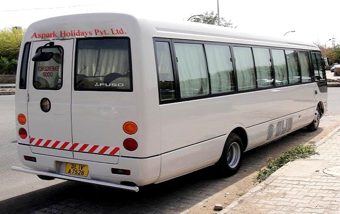 Rent Bus For 22 Person 20 Seater Mitsubishi Bus Hire