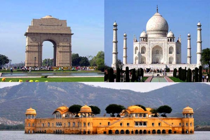 Taj with Desert Safari Tour