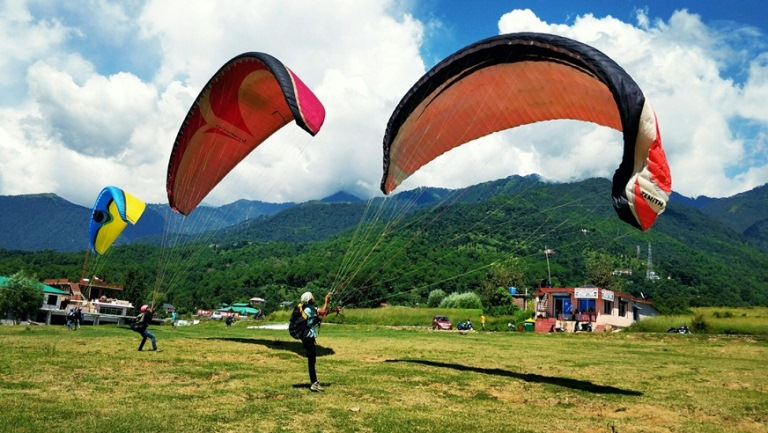 Paragliding Camping Tour