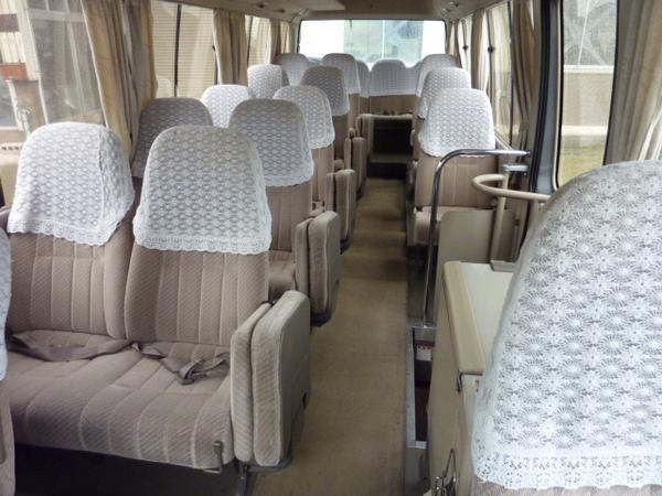 Toyota -Coaster 14-Seater
